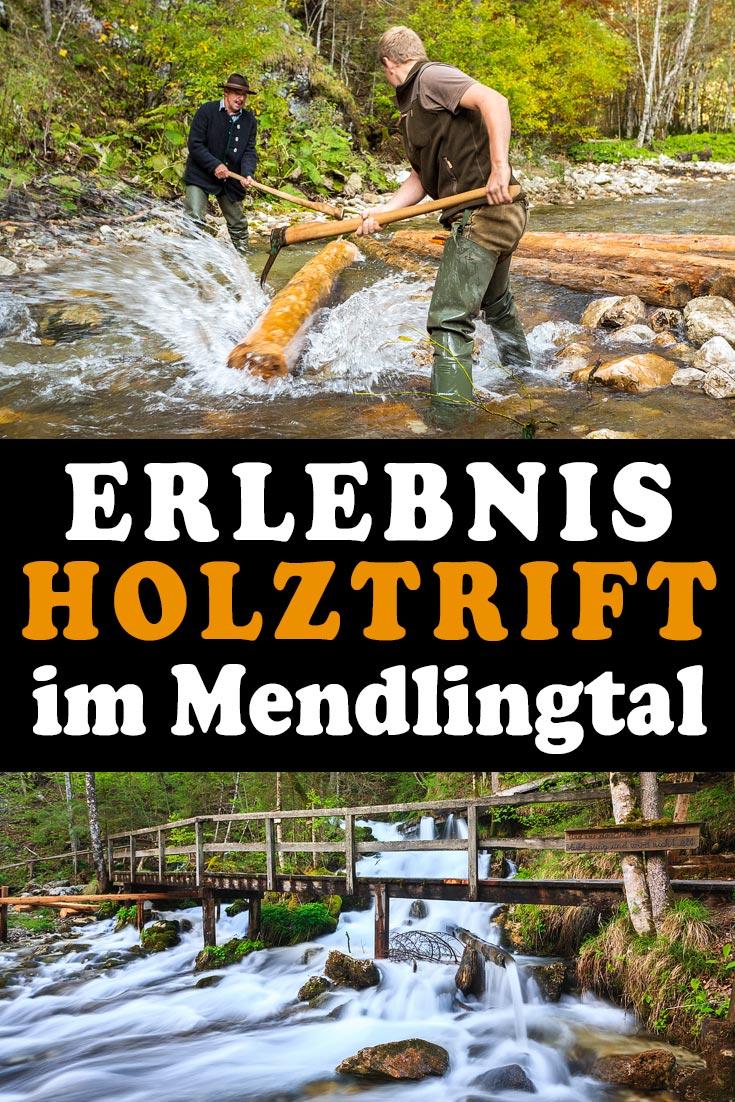 Schautriften in der Erlebniswelt Mendlingtal: Erfahrungsbericht über einen Tagesausflug nach Göstling an der Ybbs mit vielen Fotos zur Holztrift.