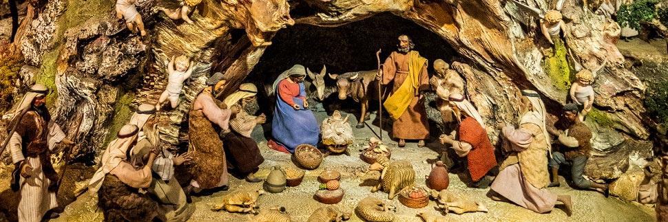Die Pöttmesser-Krippe in Christkindl
