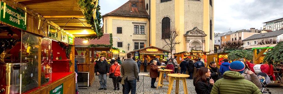 Wintermarkt am Linzer Pfarrplatz