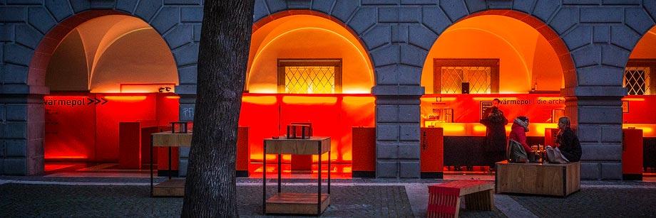 Wärmepol in der Kunstuniversität Linz