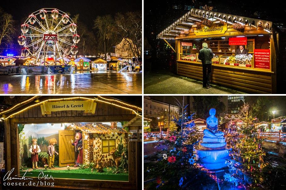 Weihnachtsmarkt im Linzer Volksgarten