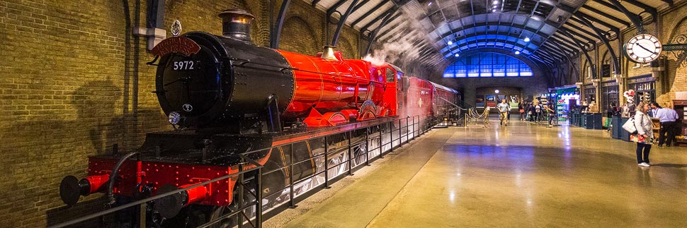 Hogwarts Express in der Harry Potter Warner Bros. Studio Tour London