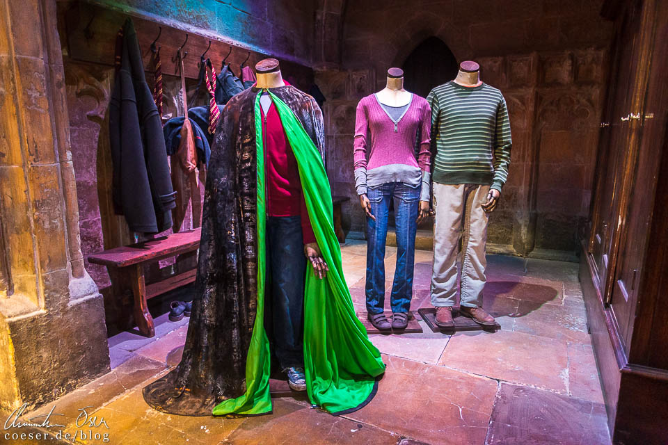 Tarnumhang von Harry Potter in der Harry Potter Studio Tour London