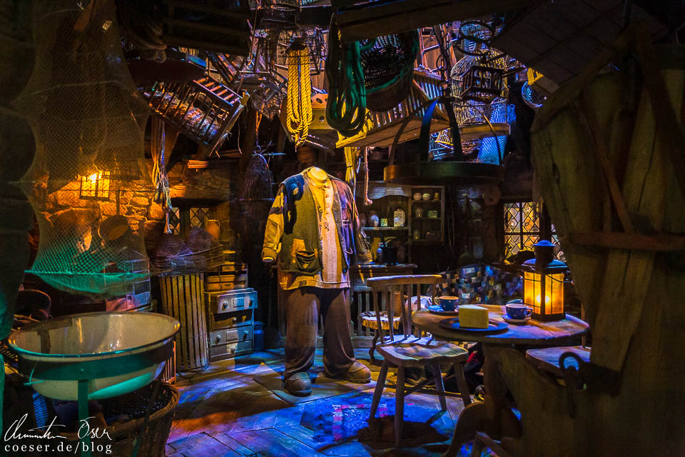 Hagrids Hütte in der Harry Potter Studio Tour London