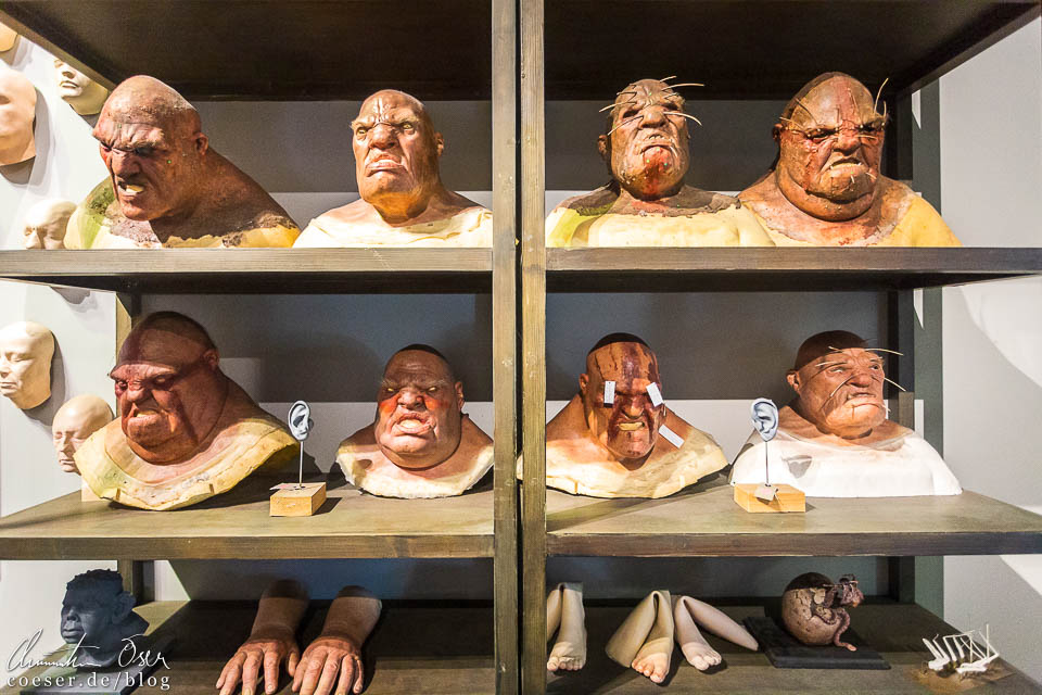 Masken in der Harry Potter Studio Tour London