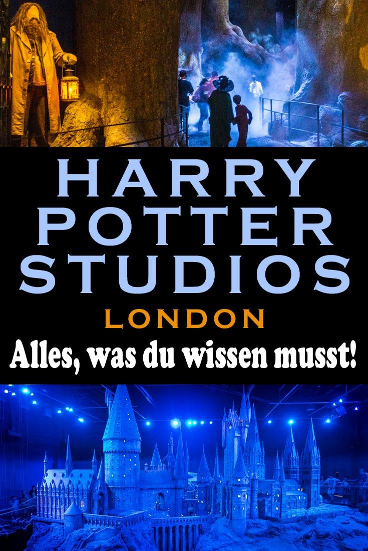 Harry Potter Warner Bros. Studio Tour in London: Erfahrungsbericht mit allen Infos zum Ticketkauf, Anreise per Zug von London aus und Tipps vor Ort.