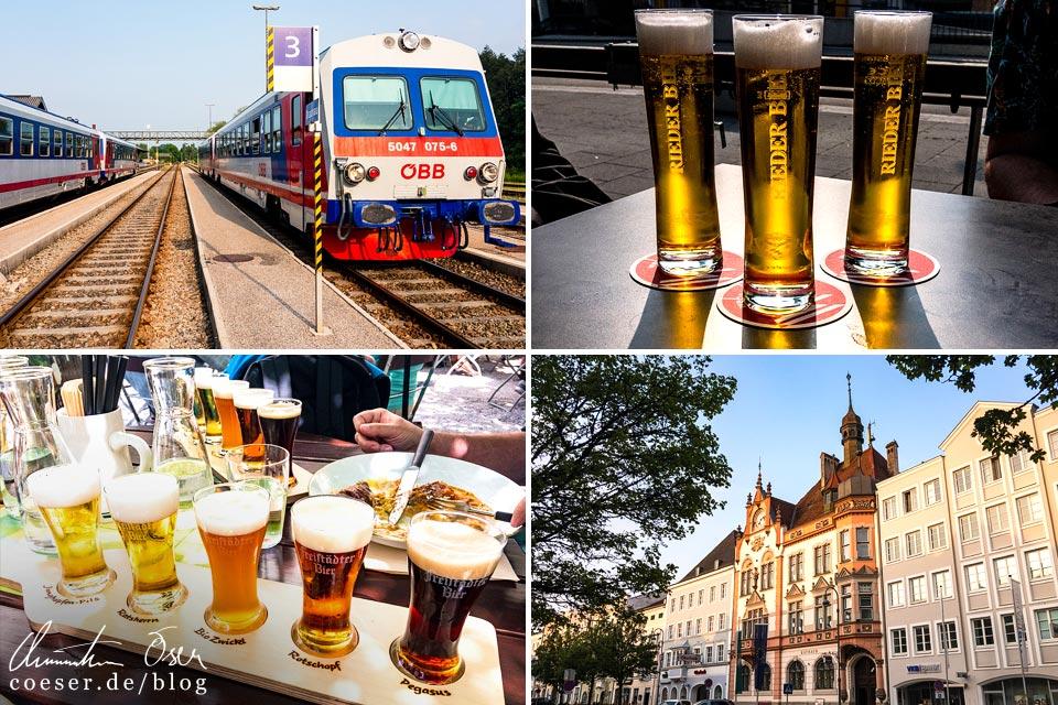 Reisetipps, Reiseinspiration und Fotospots von einer Biertour durch Oberösterreich, Österreich