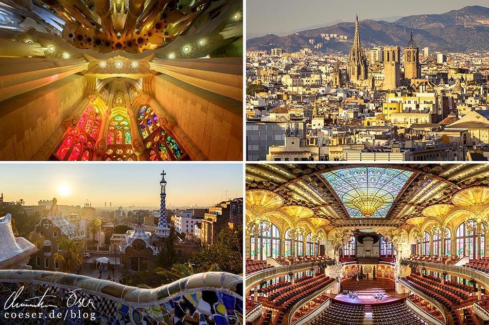 Reisetipps, Reiseinspiration und Fotospots aus Barcelona, Spanien