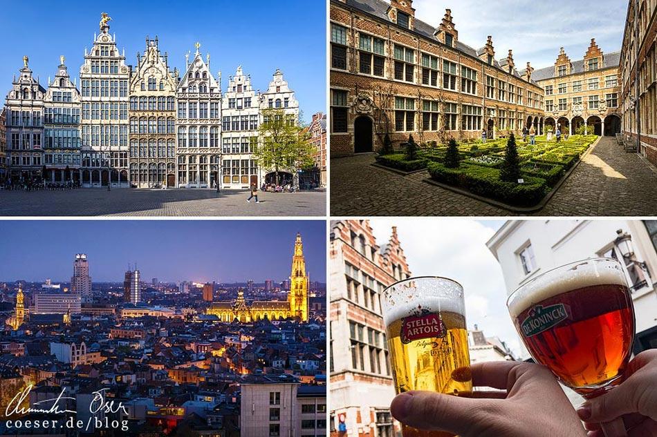 Reisetipps, Reiseinspiration und Fotospots aus Antwerpen, Belgien