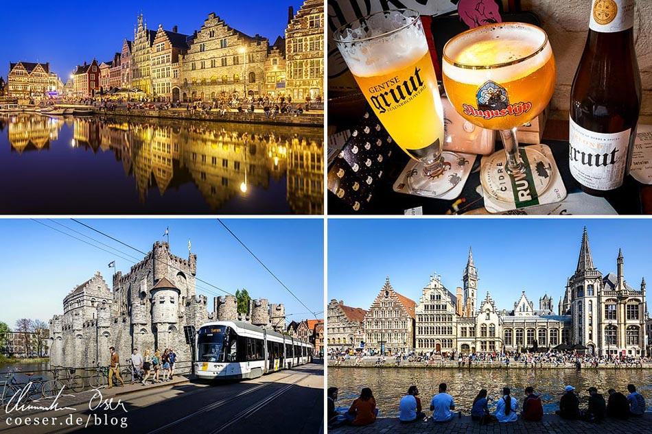 Reisetipps, Reiseinspiration und Fotospots aus Gent, Belgien