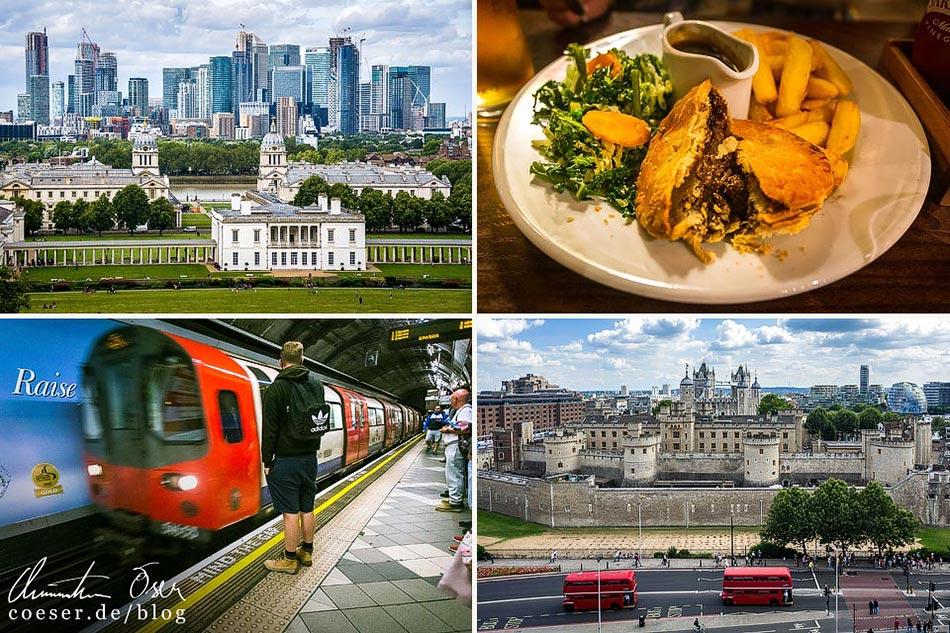 Reisetipps, Reiseinspiration und Fotospots aus London, Großbritannien