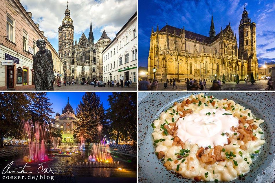 Reisetipps, Reiseinspiration und Fotospots aus Košice, Slowakei