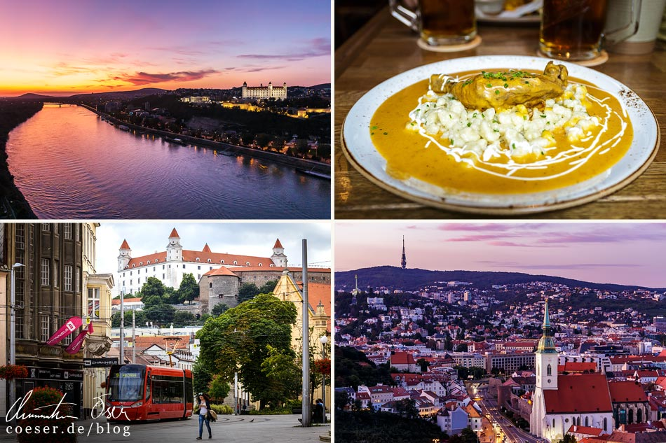 Reisetipps, Reiseinspiration und Fotospots aus Bratislava, Slowakei