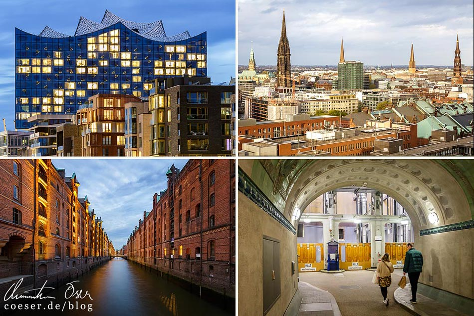 Reisetipps, Reiseinspiration und Fotospots aus Hamburg, Deutschland