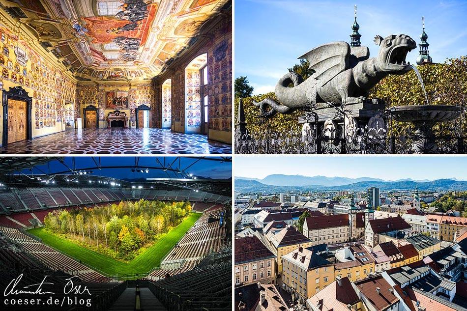 Reisetipps, Reiseinspiration und Fotospots aus Klagenfurt, Österreich