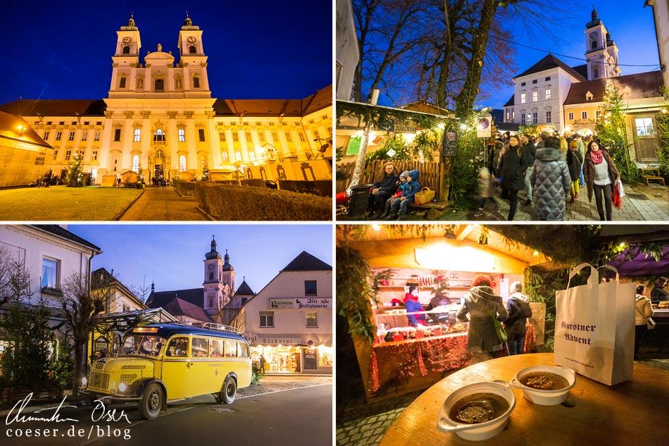 Reisetipps, Reiseinspiration und Fotospots vom Garstner Advent, Österreich
