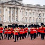 Wachablöse vor dem Buckingham Palace in London