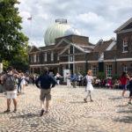 Außenansicht des Greenwich Royal Observatory in London