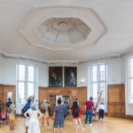 Ausstellungsraum im Greenwich Royal Observatory in London