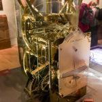 Historische Uhr im Greenwich Royal Observatory in London