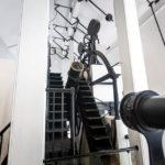 Teleskop im Greenwich Royal Observatory in London