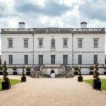 Außenansicht des Queen's House in Greenwich in London
