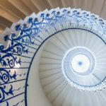Das Treppenhaus Tulip Stairs im Queen's House in London