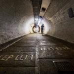Der Greenwich Foot Tunnel in London
