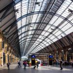 Innenansicht des Bahnhofs King's Cross