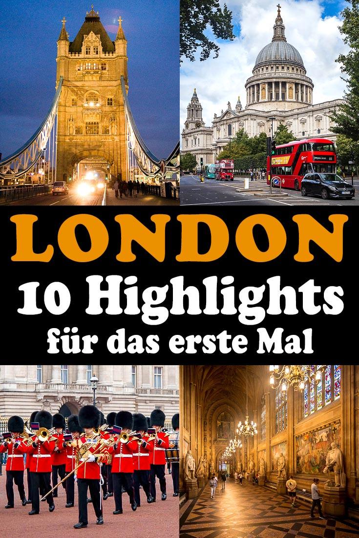 Reisebericht zu den 10 besten Sehenswürdigkeiten in London mit Erfahrungen zu Attraktionen, den besten Fotospots sowie allgemeinen Tipps.