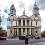 Außenansicht der St Paul's Cathedral