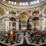 Innenansicht der St Paul's Cathedral