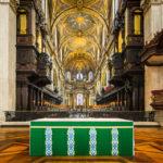 Der Chor in der St Paul's Cathedral