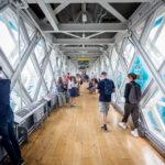 Steg über die Tower Bridge in London