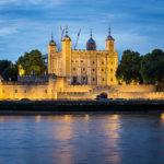 Beleuchteter Tower of London