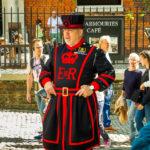 Einer der Beefeater (Wächter des Tower of London)