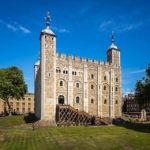 Historisches Gebäude im Tower of London