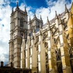 Außenansicht der Kirche Westminster Abbey in London