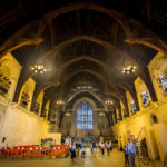 Westminster Hall im Palace of Westminster in London