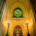 Zugang zur Westminster Hall im Palace of Westminster in London