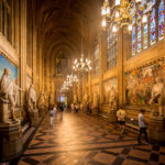 St Stephen's Hall im Palace of Westminster in London