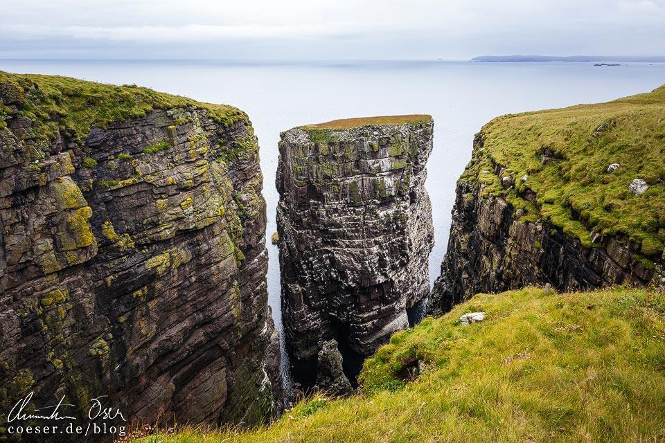 """The Great Stack"" auf Handa Island in Schottland"
