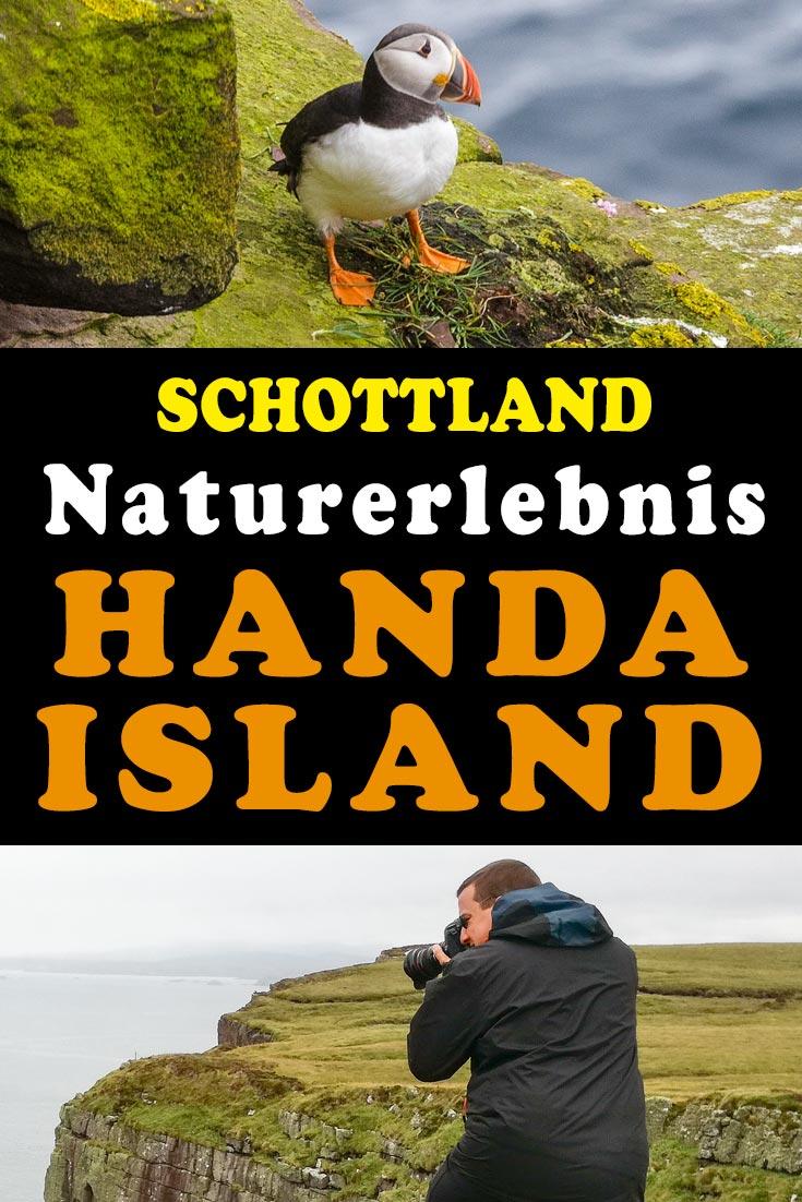 Handa Island: Reisebericht und Erfahrungen zu einem Ausflug auf die einsame Vogelinsel in Schottland mit den besten Fotospots sowie allgemeinen Tipps.