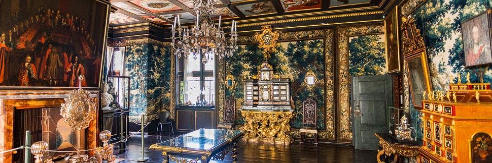 Prunkräume im Schloss Rosenborg in Kopenhagen