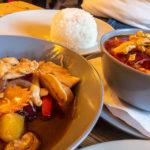 Essen im Restaurant Cafeloppen in der Freistadt Christiania