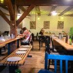 Innenansicht des Restaurant Cafeloppen in der Freistadt Christiania