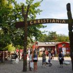 Einer der Eingänge zur Freistadt Christiania
