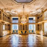 Die königliche Bibliothek im Schloss Christiansborg