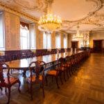 Der Speisesaal im Schloss Christiansborg