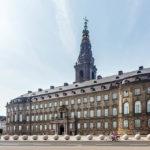 Außenansicht des Schloss Christiansborg